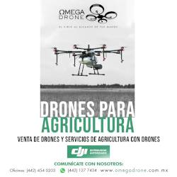 Drones para agricultura - Omega Drone